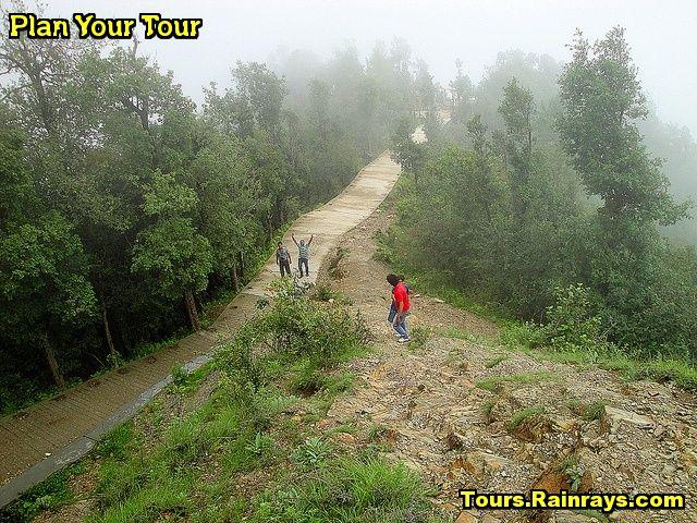 Tourist Attraction India: Surkanda Devi Temple Mussoorie | way of temple