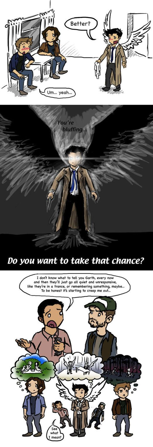 SPOILERS: SPN 8x07 by *blackbirdrose on deviantART