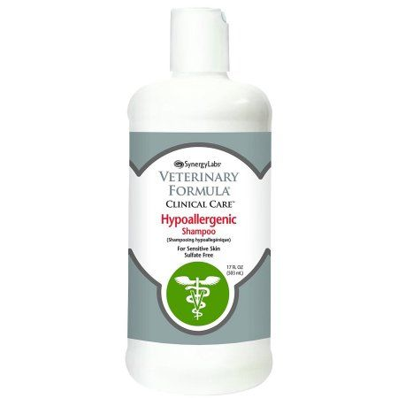 Veterinary Formula Clinical Care Hypoallergenic Shampoo, 16 Oz, Multicolor