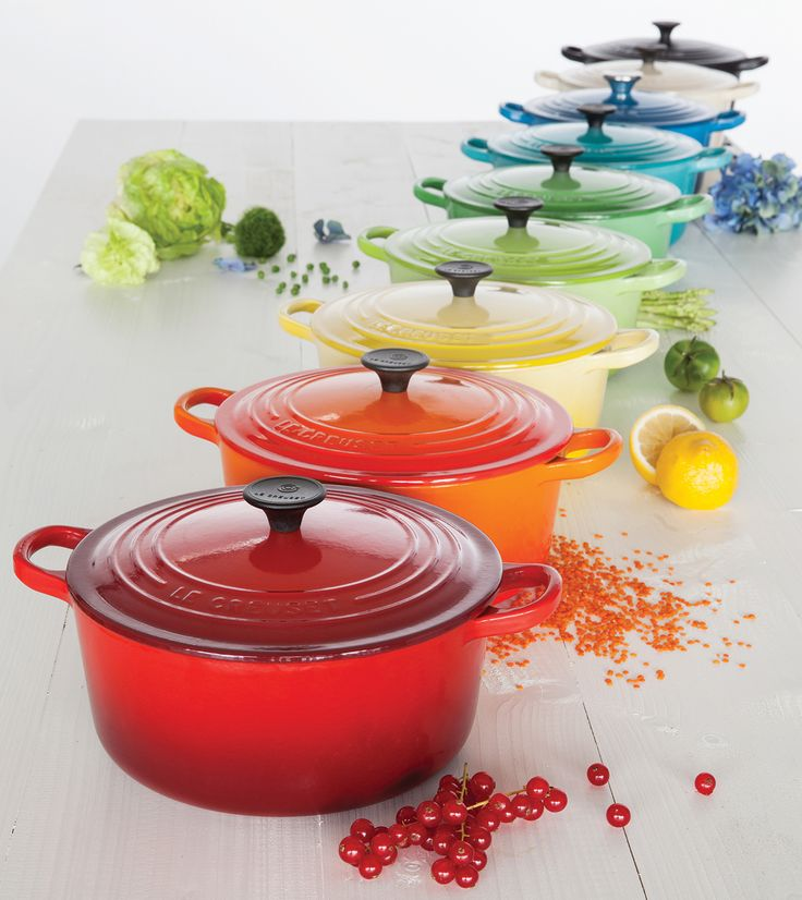 Different recipes call for differently sized casseroles, with certain capacities and shapes being better suited to certain dishes. Wisely selecting a few Le Creuset Cast Iron Casseroles will give you the flexibility to cook whatever you like, as well ... Read More