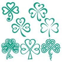 Shamrock Luck of the Irish Svg Cuttable Designs