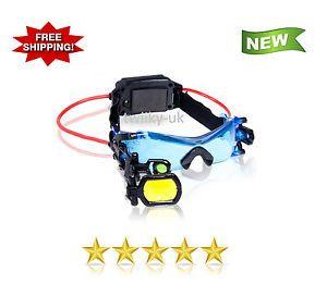 Amazing-Spy-Gear-Night-Goggles-High-Tech-Tinted-Lenses-Slighting-Scope-NEW
