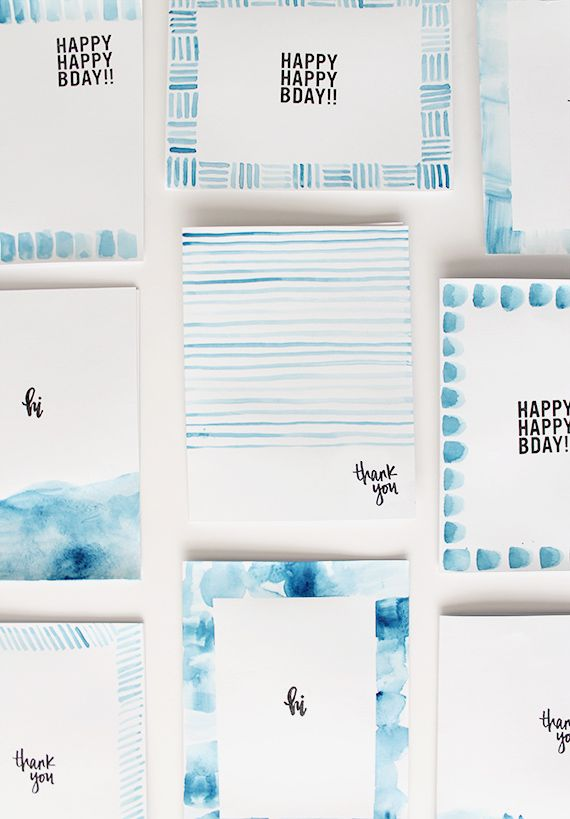 diy last minute greeting cards | almost makes perfect
