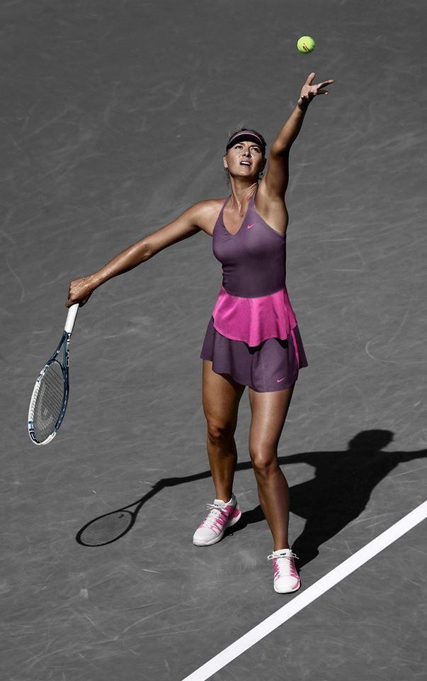 Maria Sharapova Nike Tennis collection