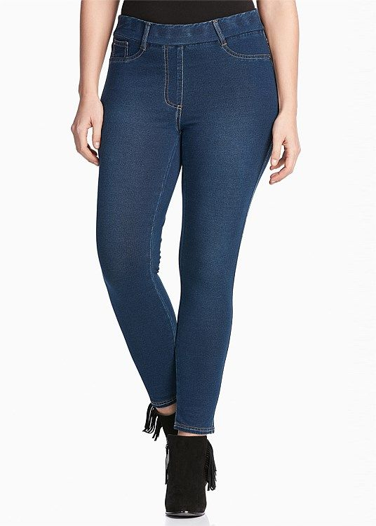 The Girlfriend Jegging from TS14+ $99.95. These are awesome - they look like jeans but they feel like tracky-dacks on. Super stretchy. Always a happy (and comfortable!) day when I wear these out and about.