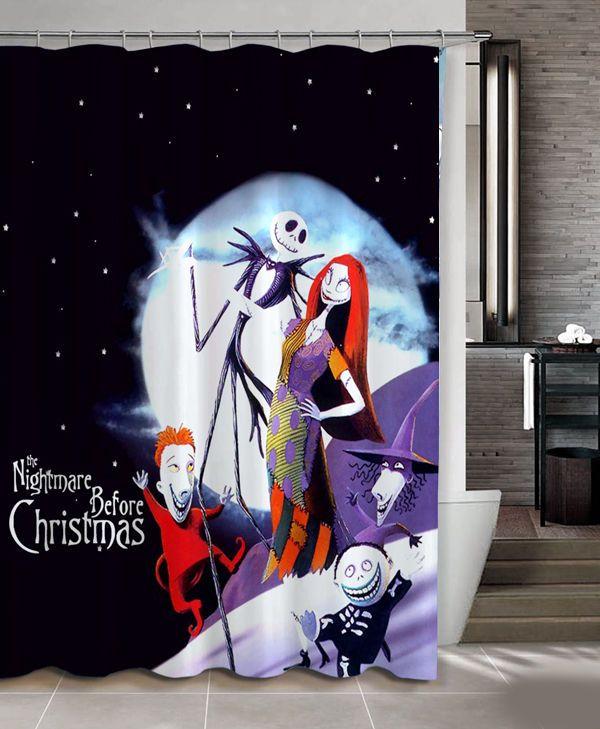 "New Hot Rare Nightmare Before Christmas Custom Shower Curtain 60"" x 72"" #Unbranded #Modern #Best #Design #Cheap #Gift #Beautiful #Showercurtain #Beautifulshowercurtain"