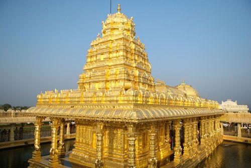 Inde : Le pays pourrait vendre l'or des temples pour freiner la chute de sa monnaie Face à la chute de la roupie, la monnaie indienne, des voix demandent que l'or détenu par des temples soit transformé en lingots et vendu à des particuliers.    Depuis le début de l'année, la roupie indienne a p
