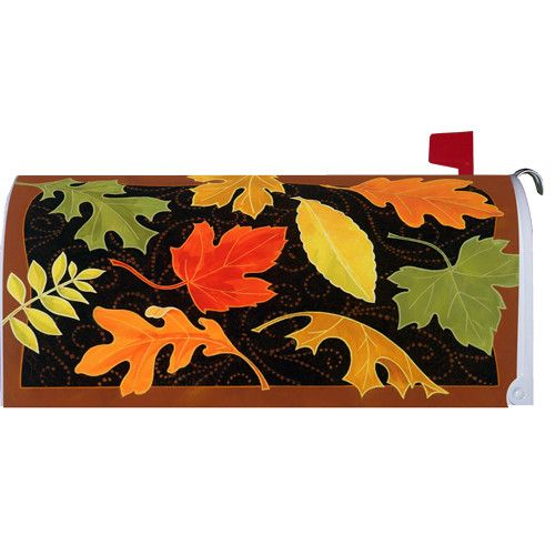 Beautiful Leaves Mailbox Cover
