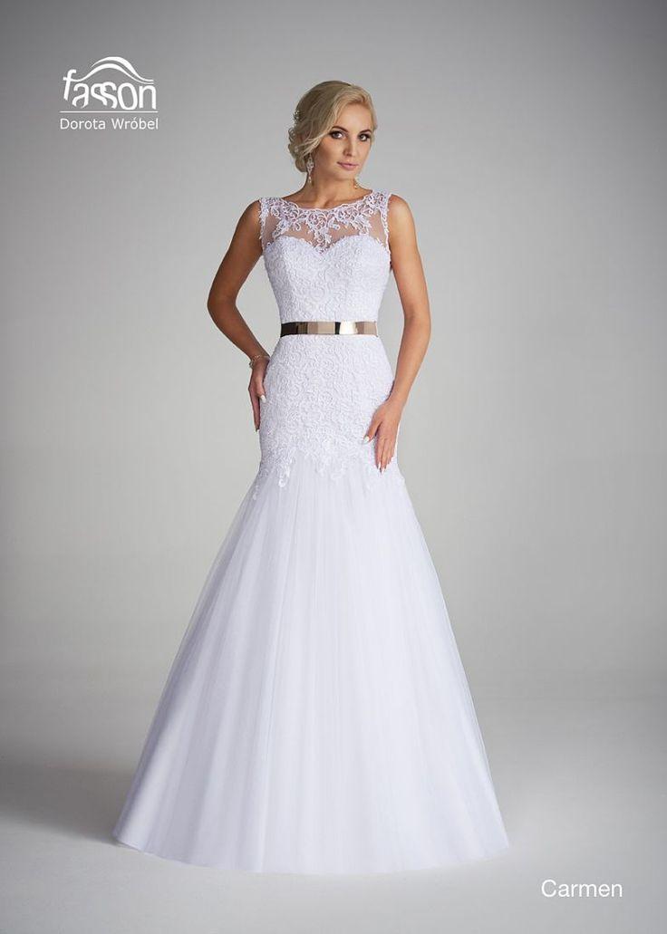 Carmen suknia ślubna