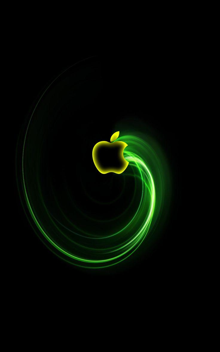 32 best images about apple on pinterest best iphone 5 - Original apple logo wallpaper ...