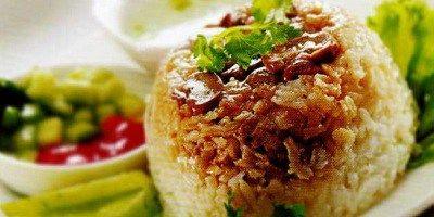 Resep Nasi Tim Ayam Enak dan Spesial