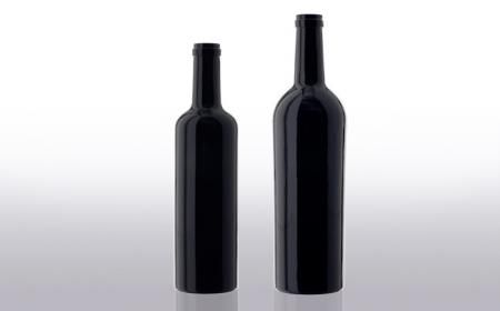Envoltura de tela para una botella de vino