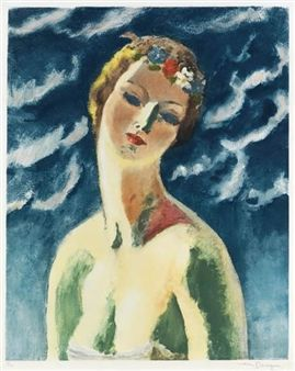Céres (Buste de Femme) By Kees van Dongen ,1948