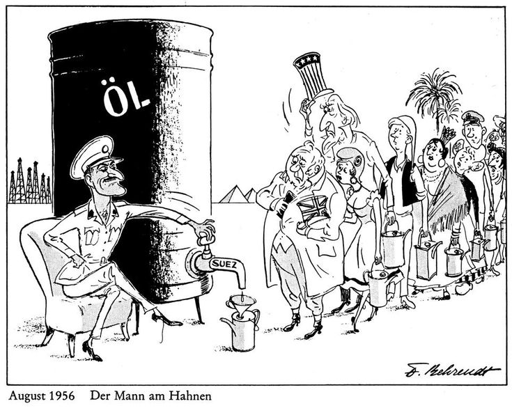1956 Western paranoia over oil access