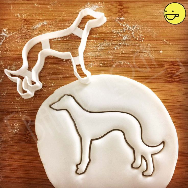Greyhound Dog cookie cutter | biscuit | fondant | clay cheese cutter | グレイハウンド 그레이하운드 greyhounds racing dogs one of a kind ooak | Bakerlogy by Bakerlogy on Etsy https://www.etsy.com/listing/227071558/greyhound-dog-cookie-cutter-biscuit