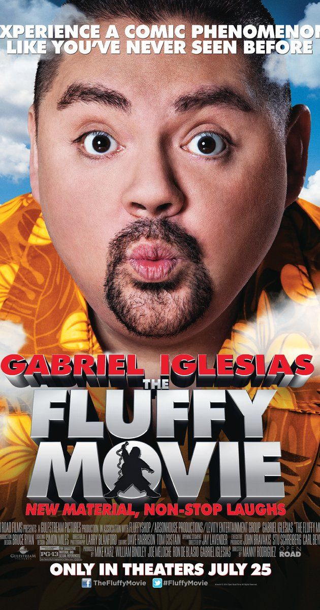"""Directed by Manny Rodriguez, Jay Lavender.  With Gabriel Iglesias, Jacqueline Obradors, Gina Brillon, Alfred Robles. A comedy concert film that captures the on-stage performance and inspirational success story of Gabriel """"Fluffy"""" Iglesias."""