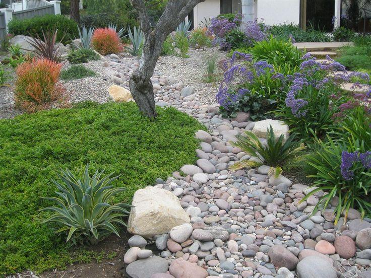 339 best dry creek bed images on pinterest gardens garden and exterior design - Garden Design Dry River Bed