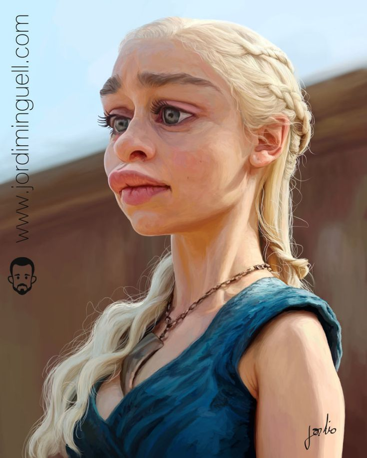 Daenerys Targaryen Khaleesi por Jordi Minguell