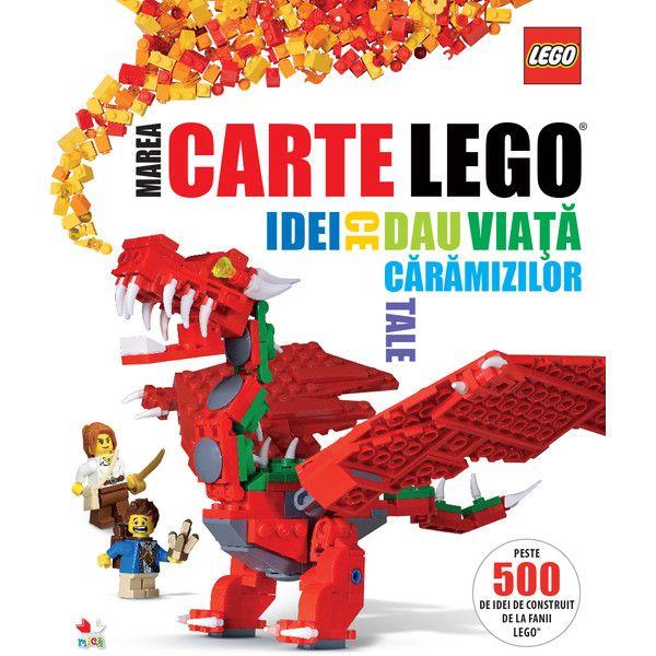 Păduri fermecate, creaturi de basm, castele, o pistă de curse,  animale din Africa, nave spațiale, monștri și roboți – o mulțime de idei  grozave ca să construiești, cu ajutorul cărămizilor tale LEGO®, o  întreagă lume în care să îți dai frâu liber imaginației.  • Tehnici de construcție • Idei simple și rapid de realizat • Jocuri pe teme variate