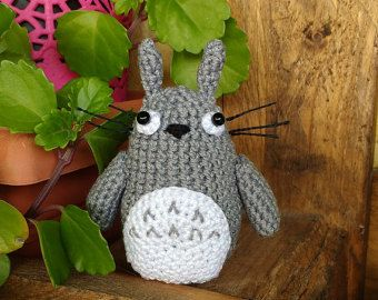 Pluche Totoro, Totoro Amigurumi, gehaakte Totoro, mijn Neighbour Totoro, Studio Ghibli Gift, Nerd Gift, Anime Gift, Hayao Miyazaki, Totoro speelgoed
