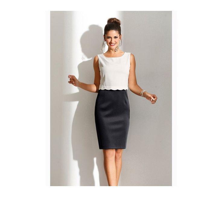 Dvoubarevné šaty v efektu 2 v 1 | vyprodej-slevy.cz #vyprodejslevy #vyprodejslecycz #vyprodejslevy_cz #saty