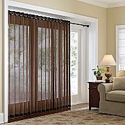 jc penney grommet panel track for sliding glass doors. on sale