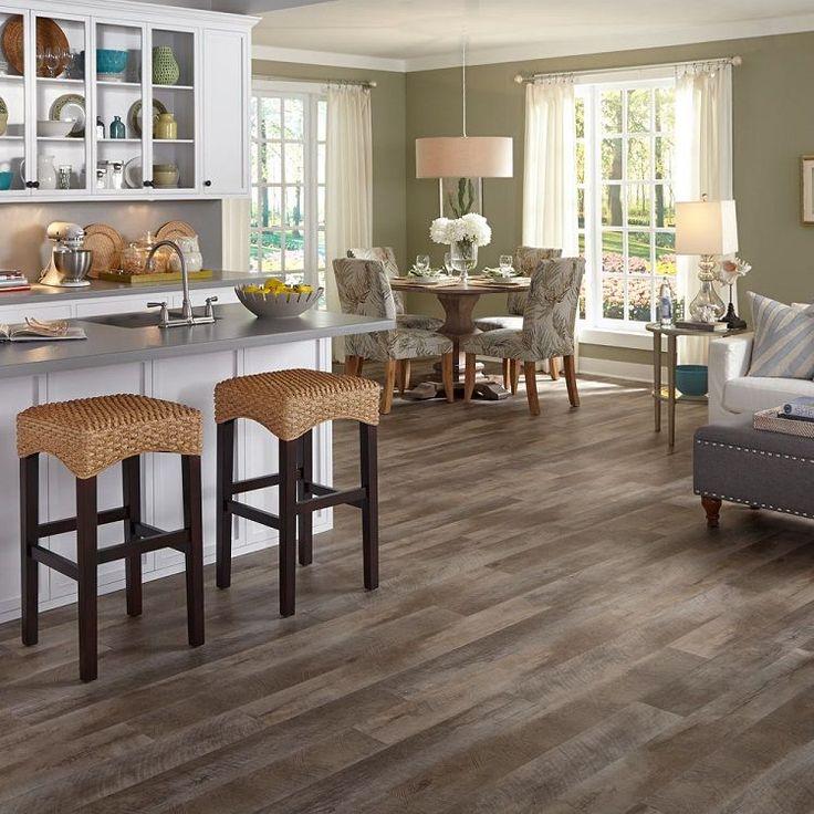 Mannington adura distinctive luxury plank seaport wharf for Luxury kitchen flooring
