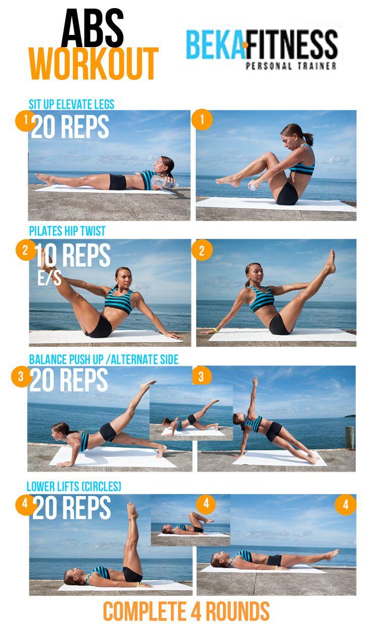 ejercicios para abdominales !