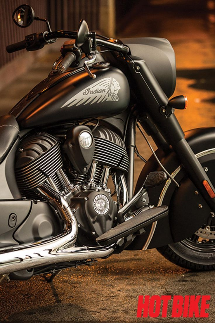 Indian Motorcycle presents the Indian Chief Dark Horse, a stealthy member to the Chief line-up and first 2016 model.