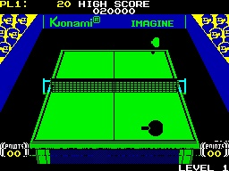 ZX Spectrum - Olympic Table Tennis