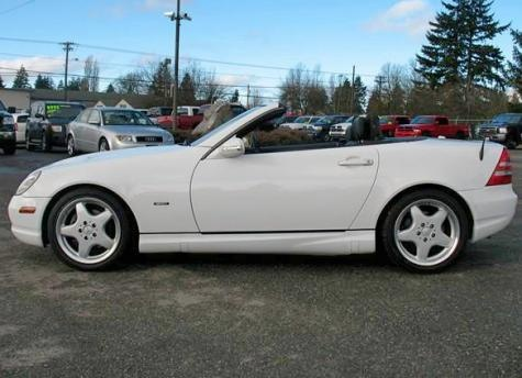 2001 Mercedes Benz SLK 230 Sport Convertible  7995  Cheap Cars