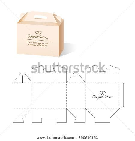 Best Packaging Die Cut Forms Images On   Box