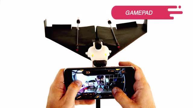 PowerUp FPV - Live Streaming Paper Airplane Drone by Shai Goitein — Kickstarter