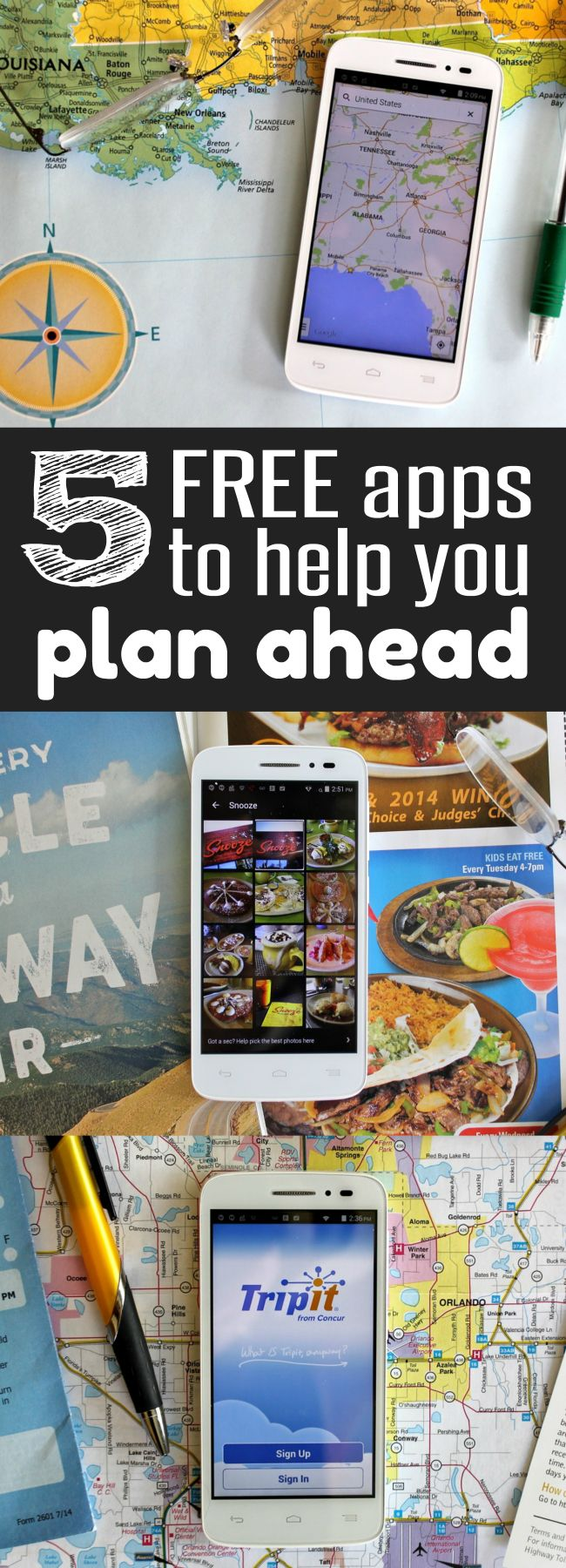 Need a FREE calendar, planning tools, weather alert system and PDA? These 5 Free apps will help you plan ahead and help you get organized! Tips from HappyandBlessed.com | Planner | Calendar for home or office | family and life organization