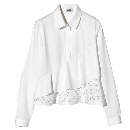 Chemise blanche Kenzo - Avoir une belle chemise blanche dans son dressing