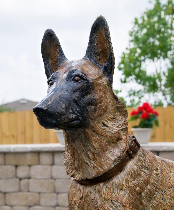 K 9 Monuments German Shepherd Statues Statuary
