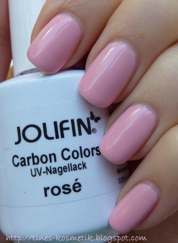 Tines Kosmetikblog: Jolifin Carbon Colors rosé