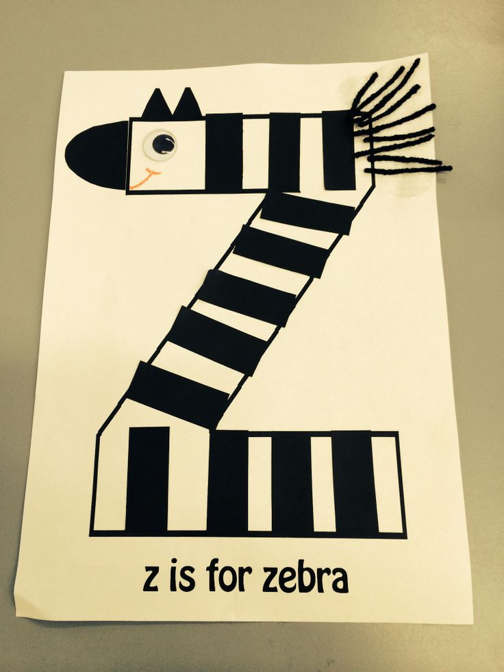 9 best playgroup fantasy fun crafts images on pinterest fun zebra playgroup craft made by gluing black strips ears and nose onto z letter template gluing black wool for mane and googly eye on draw a mouth spiritdancerdesigns Images