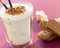Mousse de chocolat blanc aux speculoos (facile, rapide) - Une recette CuisineAZ