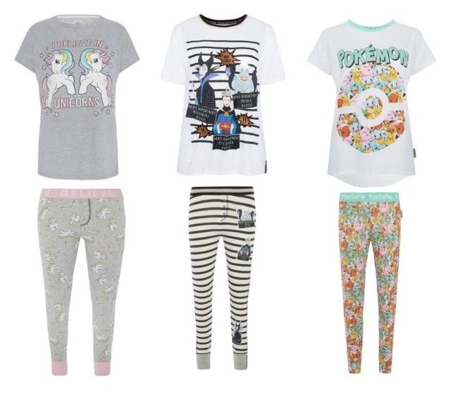 pyjamas sets by georgiana-maria-1 on Polyvore featuring My Little Pony