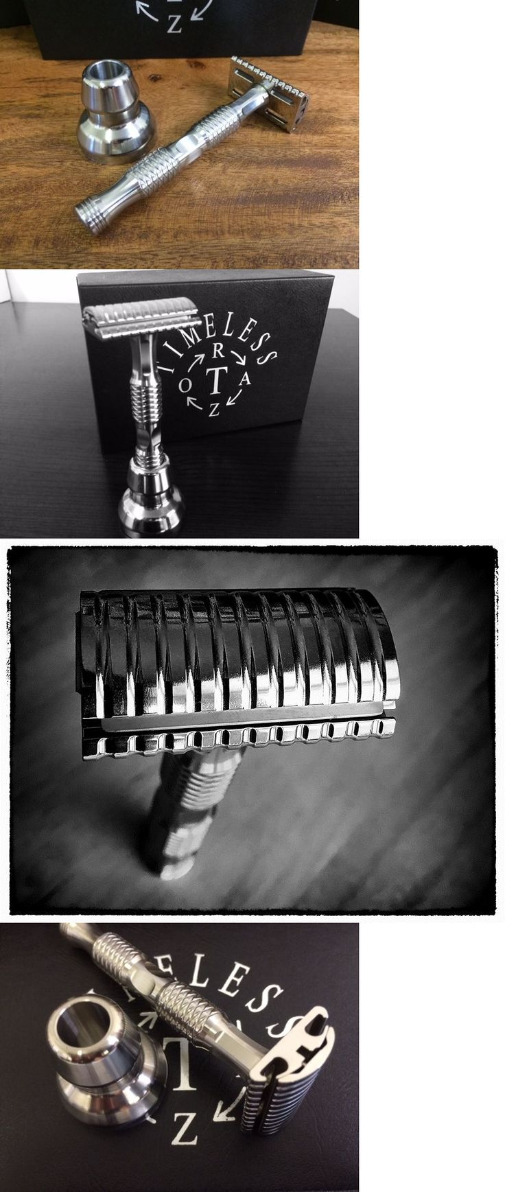 Mens Razors: Timeless Razor Stainless Steel De Safety Razor: Made In Usa (The Gift) -> BUY IT NOW ONLY: $240 on eBay!