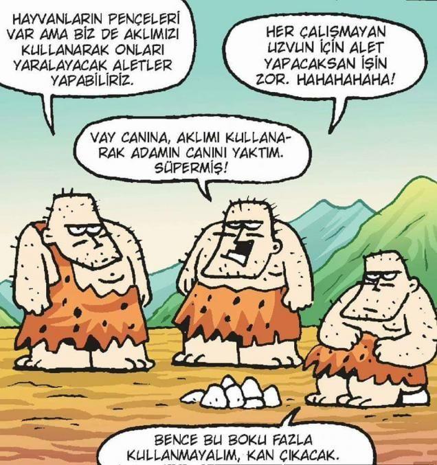 Aklını Kullanmak Karikatürü Özer Aydoğan   Karikatürname
