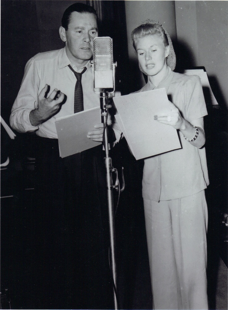 Ginger Rogers and Herbert Marshall - radio broadcast.