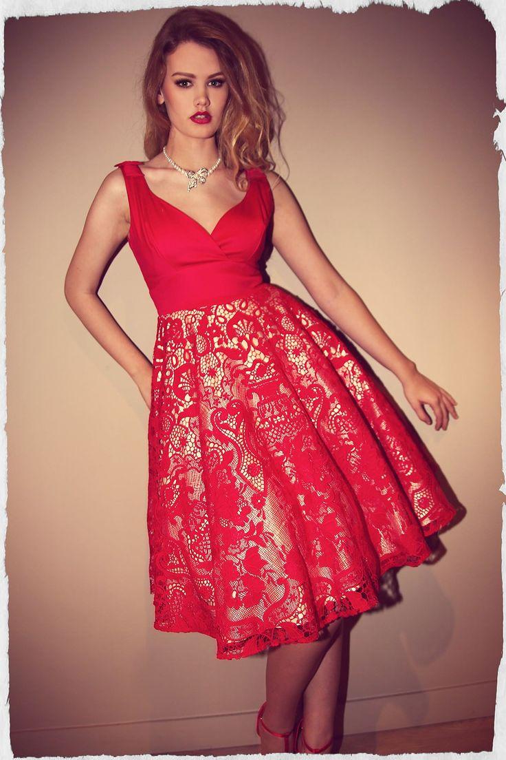 Scarlet Bow Dress