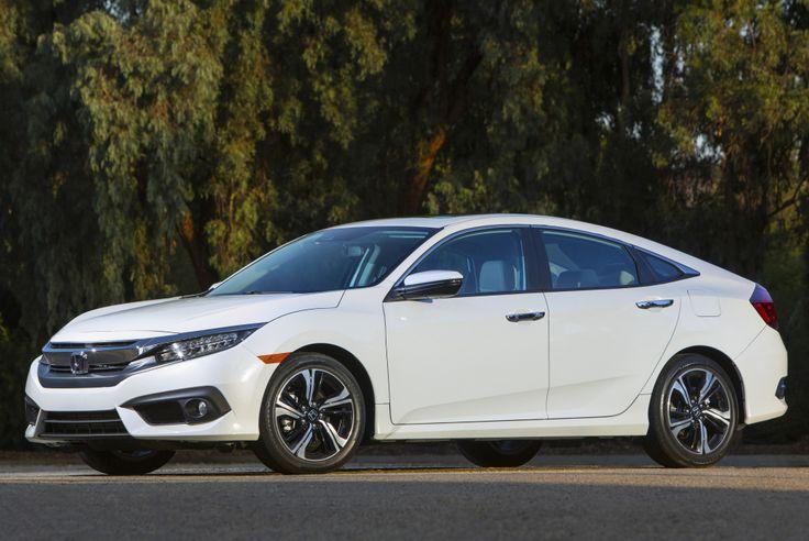 2016 Honda Civic Sedan Touring - 2015
