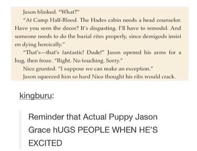 Aw Jason hugs >>>> what's more important is Nico being very gay about decor. This makes me happy