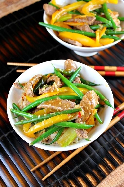 Ginger beef, Beef and Orange on Pinterest