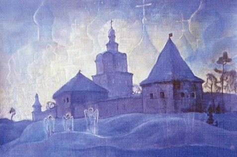 Watch angels by Boris Smirnov Rusetsky