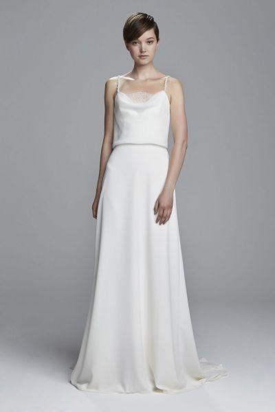 Vestidos de novia línea A 2017: 40 diseños para lucir una figura estilizada y entallada Image: 35