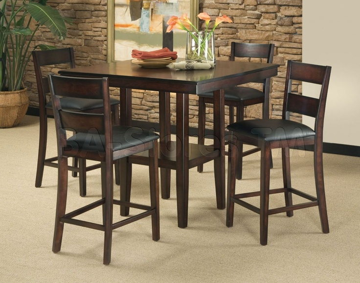 Pendleton 5 Pcs Counter Height Table Set with 24  Seat Height Stools & 10 best Bar Pub Tables u0026 Sets images on Pinterest | Pub tables ...